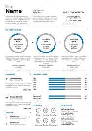 Infographic Resume Vol 3 Infographics Pinterest Infographic