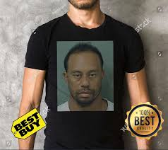 Tiger Woods mug shot funny shirt, ladies tee, tank top, and v-neck