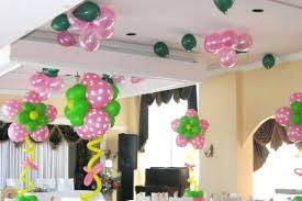 1st birthday balloon decoration ideas at home balloons decorators