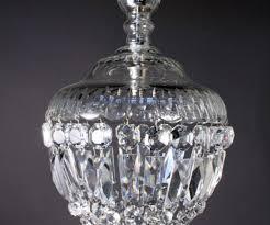antique chandelier crystal bag fritz fryer