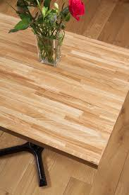 table top. Finest Quality Solid Oak Restaurant Table Tops Stand Not Included Top