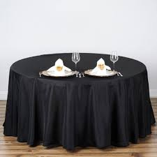 brand new 70 black round table cloth cover cotton wedding birthday party dining decoration for home restaurant