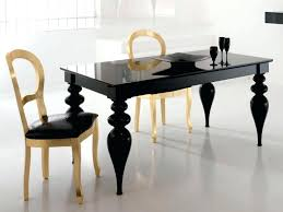 high gloss dining chairs black or white lacquer dining table gold or silver leaf chairs black