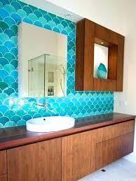 glass backsplash tile turquoise blue glass tile bathroom kitchen backsplash glass tile