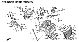 1998 honda shadow ace deluxe 750 vt750cd2 cylinder head front schematic search results 0 parts in 0 schematics