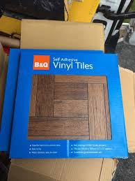 B Q Self Adhesive Vinyl Floor Tiles In Rawmarsh South Yorkshire