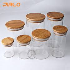 glass jar with wooden lid china glass jar with rubber seal bamboo wooden lid for e glass jar with wooden lid
