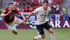 Ungarn führt zur pause 1:0 gegen frankreich. Pdm0b Edgilhsm
