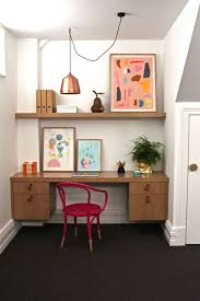 Home office nook Cozy Home Office Nook With Metallic Pendant Light Tlc Interiors Jawdropping Home Office Nooks You Can Steal Ideas From