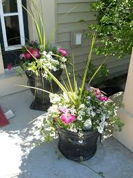 best images about outdoor flower container ideas on easy pot arrangements outside