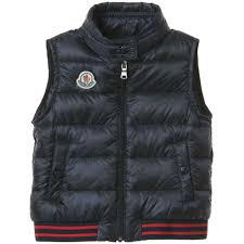 MONCLER Baby Boys Navy Blue  Titouan  Down Padded ...