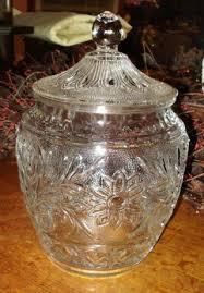 Decorative Clear Glass Jars With Lids Decorative Arts Glass Jars Antiques Browser 34
