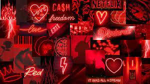 Neon red aesthetic wallpaper – Artofit