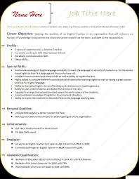 Template Teacher Resume Template Microsoft Word Free Newsletter Temp