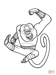 Free Downloadable Coloring Pages For Kids Lovely Kung Fu Panda