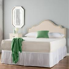 Mirror In The Bedroom Bedroom Framed Almunium Wall Mirror Cream Contemporary Leather