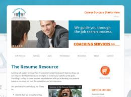 Pretty Looking Resume Site 4