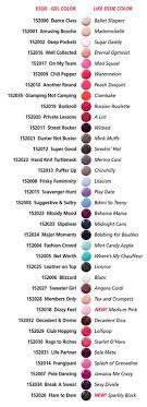 Essie Gel Colors Chart Essie Amusing Bouche Gel Polish The Ceos Blog