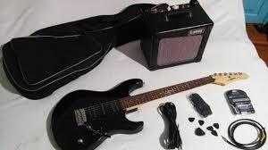 Электрогитара Yamaha ERG121 и ламповый комбик Laney Cub8 ...