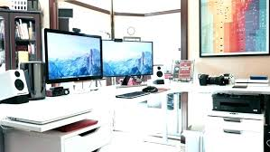 home office setup ideas. Stunning Home Office Computer Setup Contemporary Decorating Ideas Desk Minimalist