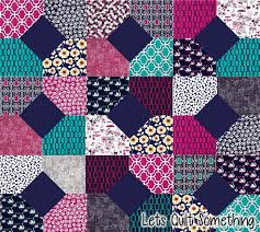 Lets Quilt Something: Midnight Gems Free Quilt Pattern - Layer ... & Midnight Gems Free Quilt Pattern - Layer Cake and Charm Pack Adamdwight.com