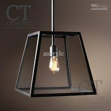 2018 American Wrought Iron Glass Pendant Light Brief Old Furniture Bar  Classical Pendant Light From Auergle, $741.72 | Dhgate.Com