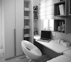 corner deks home office with high shelving units a portable pc device a pile of books bedroom desk unit home