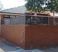 brick fence extension