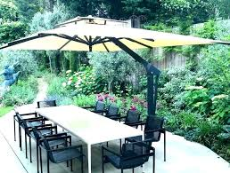 cantilever patio umbrellas foot deluxe square offset cantilever patio umbrella best cantilever patio umbrella reviews