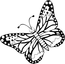 Small Picture FREE Butterfly Coloring Pages Flying Butterfly