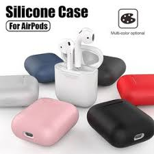 Soft Silicone Earphone Cases For AirPods Shockproof Cover ... - Vova