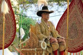 「タイ国王の戴冠式」の画像検索結果