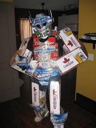 Beer Box Decorations Beer box Optimus Prime transformer BBall 100 LifeFan Love Pinterest 6