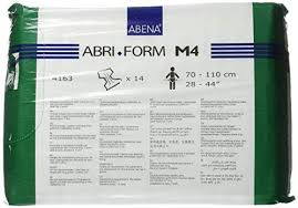 Abena Size Chart Abena Abri Form Comfort Briefs Medium M4 14 Count Amazon