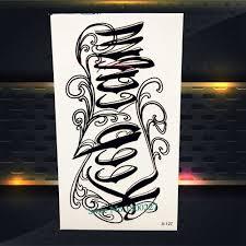 сын божий греческие крест временные татуировки черные чернила цвет для женщин