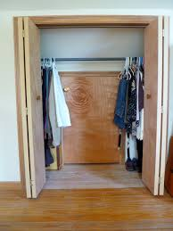 Decorations:Adorable Attic Closet Idea With Mirror Wall And Wooden Floor  Ideas Smart Closet Ideas