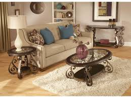 Old World Living Room Furniture Standard Furniture Bombay Old World Sofa Table With Glass Top And