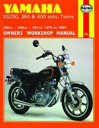 yamaha xs250 xs360 and xs400 sohc twins 1975 1984 haynes yamaha xs250 xs360 and xs400 sohc twins 1975 1984 haynes