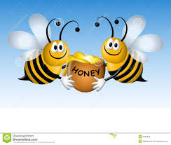 Image result for bees and honey