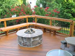 gas fire pits for decks archa s pit on composite deck safe natural wood