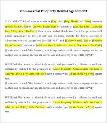 Offer To Lease Commercial Property Template – Nortetic