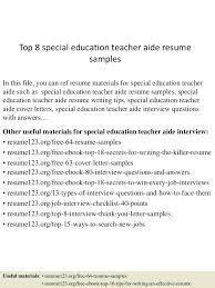 Teacher Aide Resume No Experience Resume Teacher Aide Resume 20