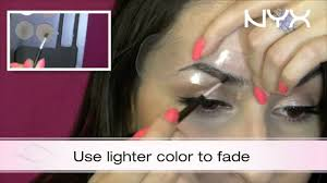 nyx makeup eyebrows. catch julieg713 at ulta with a new tutorial featuring our eyebrow kit and stencil! - youtube nyx makeup eyebrows