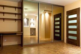 closet door designs mirror ideas wooden1 ideas
