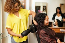 Hair salon teen assistant