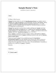 How To Make A Doctors Note For Work 5 Templates To