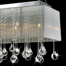 contemporary crystal chandelier attractive modern rain drop with regard to popular house modern crystal chandeliers plan