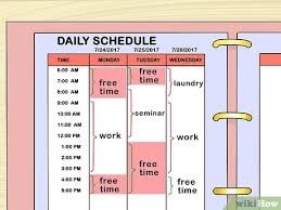 Exercise Daily Routine Chart How To Make A Workout Plan With Pictures Wikihow