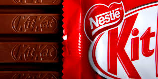 bars of original kitkat chocolate produced by nestle sa and without the fairtrade logo sit arranged for a photograph in london u k on monday dec 7