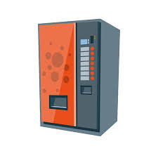 Vending Machine Cartoon Impressive Vector Illustration Of Isolated Red Vending Machine For Soft
